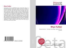 Buchcover von Rhys Fulber