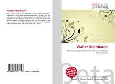 Bookcover of Walter Steinbauer
