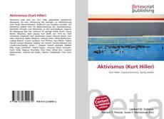 Aktivismus (Kurt Hiller) kitap kapağı