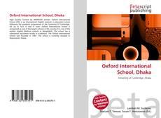 Обложка Oxford International School, Dhaka