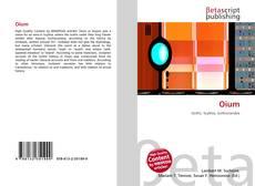 Buchcover von Oium