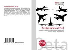 Bookcover of Friedrichshafen FF.40