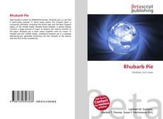 Buchcover von Rhubarb Pie