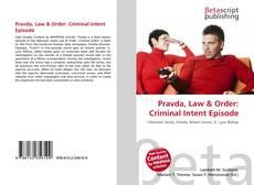 Pravda, Law & Order: Criminal Intent Episode的封面