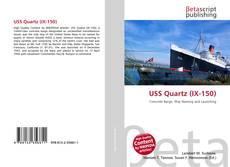 USS Quartz (IX-150) kitap kapağı