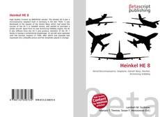Bookcover of Heinkel HE 8