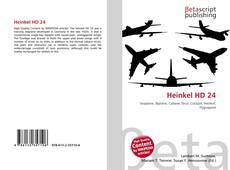 Bookcover of Heinkel HD 24