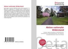 Buchcover von Aktion nationaler Widerstand
