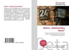 """Buchcover von Aktion """"Arbeitsscheu Reich"""""""