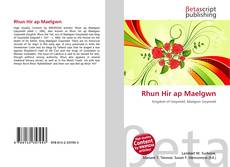 Capa do livro de Rhun Hir ap Maelgwn