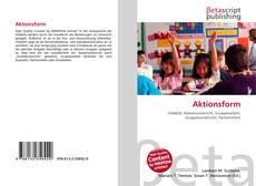 Aktionsform kitap kapağı