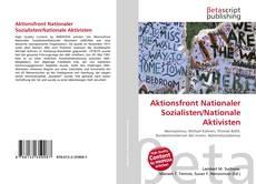 Capa do livro de Aktionsfront Nationaler Sozialisten/Nationale Aktivisten