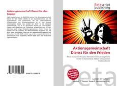 Bookcover of Aktionsgemeinschaft Dienst für den Frieden