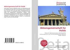 Aktionsgemeinschaft für Politik kitap kapağı