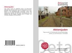 Buchcover von Aktionsjuden