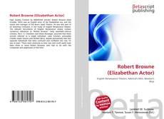 Bookcover of Robert Browne (Elizabethan Actor)