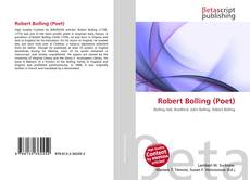 Обложка Robert Bolling (Poet)