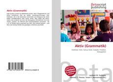 Bookcover of Aktiv (Grammatik)