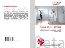Buchcover von Aktive Elektroosmose