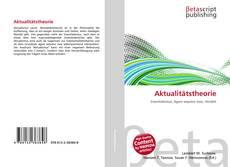 Aktualitätstheorie kitap kapağı