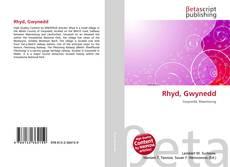 Rhyd, Gwynedd kitap kapağı