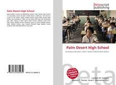 Palm Desert High School的封面