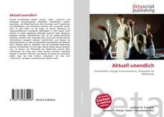 Buchcover von Aktuell unendlich