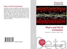 Bookcover of Rhye's and Fall of Civilization