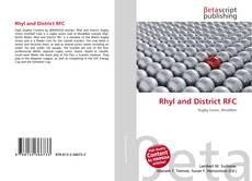 Rhyl and District RFC kitap kapağı