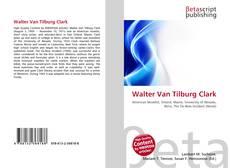Обложка Walter Van Tilburg Clark