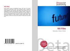 NX Files kitap kapağı
