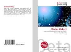 Buchcover von Walter Vickery