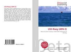 Capa do livro de USS Rixey (APH-3)