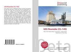 Capa do livro de USS Roanoke (CL-145)