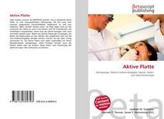 Buchcover von Aktive Platte