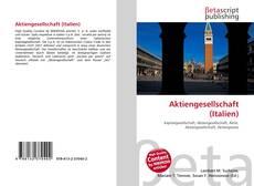 Bookcover of Aktiengesellschaft (Italien)
