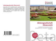 Bookcover of Aktiengesellschaft (Österreich)