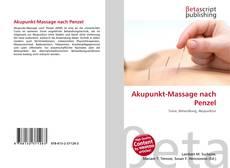 Bookcover of Akupunkt-Massage nach Penzel