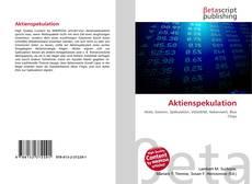 Copertina di Aktienspekulation