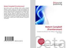 Capa do livro de Robert Campbell (Frontiersman)