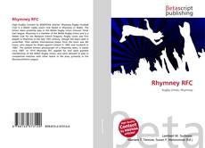 Rhymney RFC kitap kapağı
