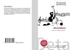 Buchcover von Akustikbass
