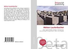 Borítókép a  Aktion Lauterbacher - hoz