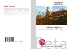 Portada del libro de Aktion Saybusch