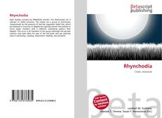 Обложка Rhynchodia