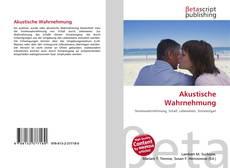 Bookcover of Akustische Wahrnehmung