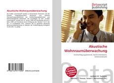 Portada del libro de Akustische Wohnraumüberwachung
