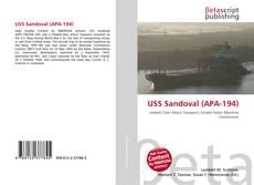 USS Sandoval (APA-194)的封面