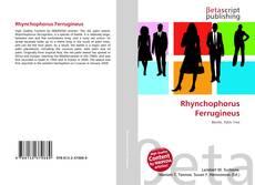 Rhynchophorus Ferrugineus kitap kapağı