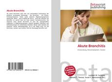 Capa do livro de Akute Bronchitis